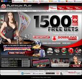 Platinum Play Casino - Screenshot 1