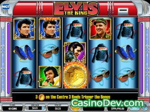 elvis the king slot machine online