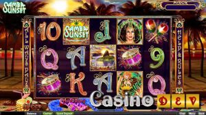 Realtime Gaming Releases Samba Sunset Slot